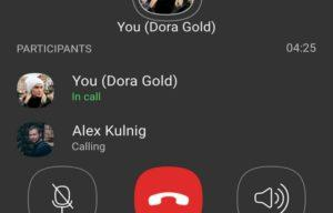 Групповые звонки с несколькими пользователями в Viber