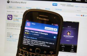 Вайбер для BlackBerry