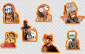 Новые стикеры на Хеллоуин